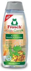Eko - detský sprchový gél a šampón Frosch 2v1 250 ml