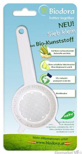Eko - sitko na čaj z bioplastu Biodora - malé