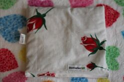 Nahrievací vankúšik s čerešňovými kôstkami Ekomarket 19x19 cm - ruža