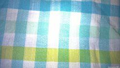 Obliečka na vankúš Ekomarket - modre kocky