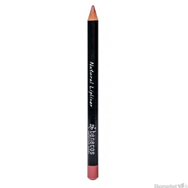 Prírodná kajalová ceruzka na pery Benecos - hnedá 1,13 g