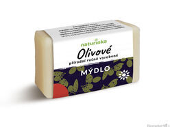 Prírodné mydlo Naturinka 110g - olivové (citlivá pokožka)