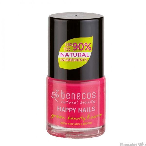 Prírodný lak na nechty Benecos - oh lala! 8 free 5 ml