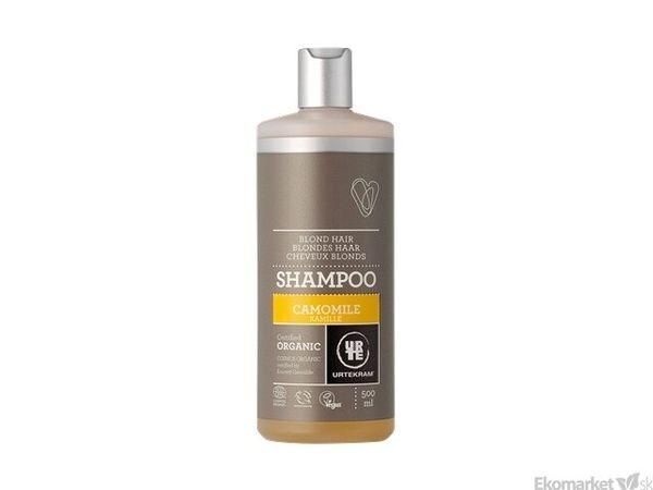 Prírodný šampón kamilka URTEKRAM 500 ml - svetlé vlasy