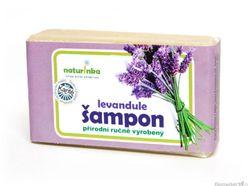Prírodný šampón Naturinka 110g - levanduľový (normálne až mastné)