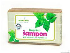Prírodný šampón Naturinka 110g - žihlavový (normálne až mastné)