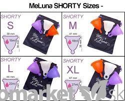 Menštruačný kalíšok MeLuna s guličkou shorty L - fialový - Ekoobchod ... 0be39e8d49a