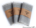 Ľanové nákupné vrecko 40x30 cm