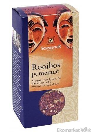 BIO Čaj Rooibos pomaranč Sonnentor 100g - sypaný