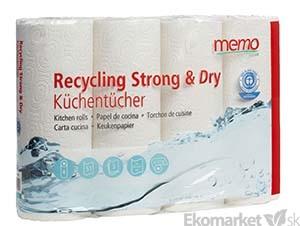 Eko - papierové kuchynské utierky Memo - 3 vrstvové 4ks - Ekoobchod ... e6b2ae47a76