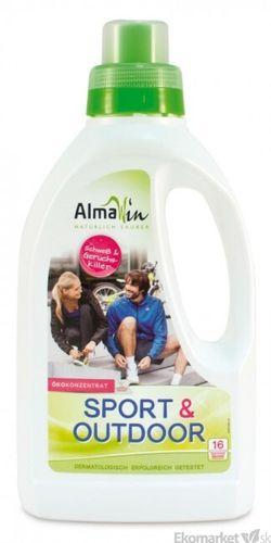 Eko - prací gél na pranie športového a outdoorového oblečenia vrátane membrán Almawin 750 ml