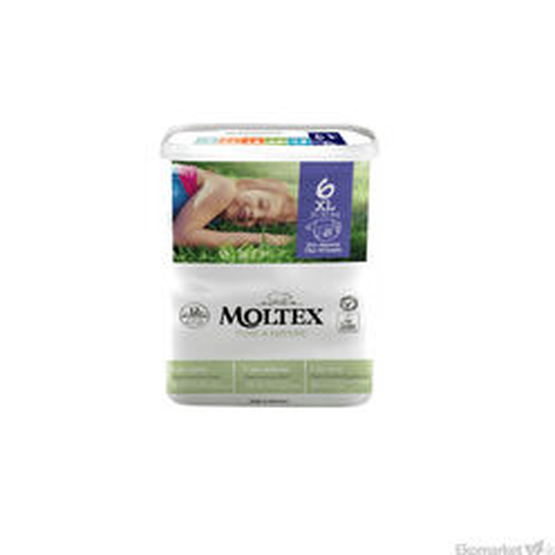 Moltex prírodné plienky XL 16-30kg 22 ks