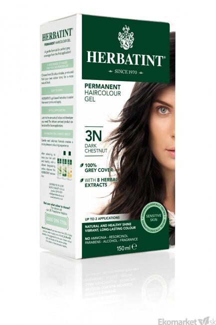 Prírodná farba na vlasy Herbatint 3N - tmavý gaštan - Ekoobchod ... eb5e3b26ccf
