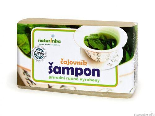 Prírodný šampón Naturinka 110g - čajovníkový (mastné vlasy)