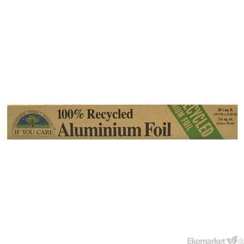 100% Recyklovateľný alobal 10m If You care