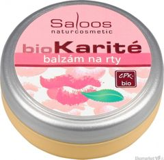 Bio karité Balzám na pery Saloos 19 ml