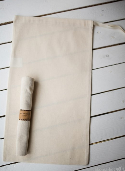 Bavlnené nákupné vrecko 40x30 cm