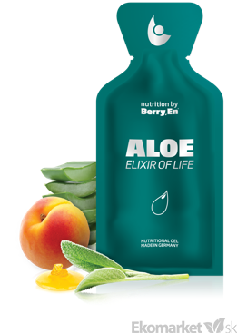Berry.En Aloe Vera - elixír života 1bal (30ks)