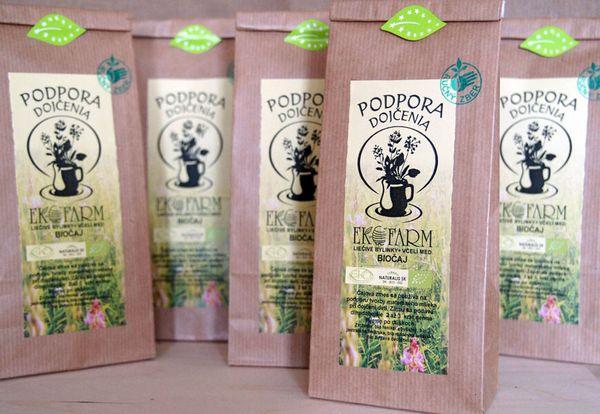 BIO Čaj na podporu dojčenia Ekofarm 50g - sypaný