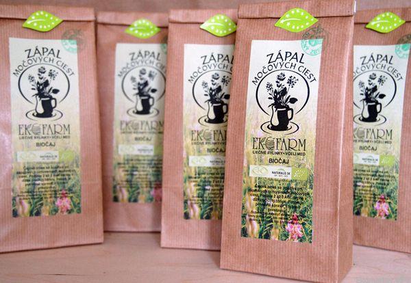 BIO Čaj na zápal močových ciest Ekofarm 50g - sypaný