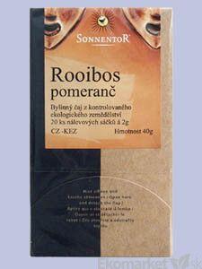 BIO Čaj Rooibos pomaranč Sonnentor - porcovaný