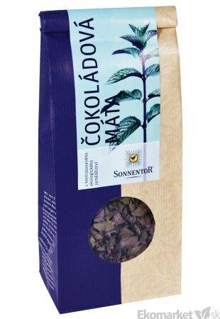 BIO Čokoládová mäta Sonnentor 50g - sypaný čaj