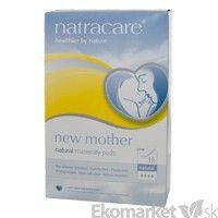 BIO degradovateľné materské vložky extra jemné Natracare 10ks