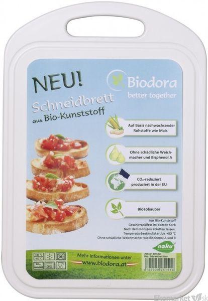Eko - doska na krájanie z bioplastu Biodora 1ks - malá