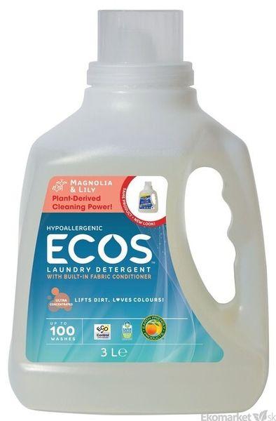 Eko - prací gél Ecos 2v1 3l - magnólia a ľalia