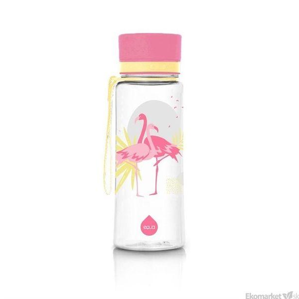 Ekologická fľaša EQUA - Flamingo 600ml