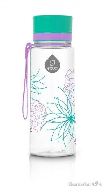 Ekologická fľaša EQUA - Flower 600ml