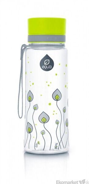 Ekologická fľaša EQUA - Leaves 600ml
