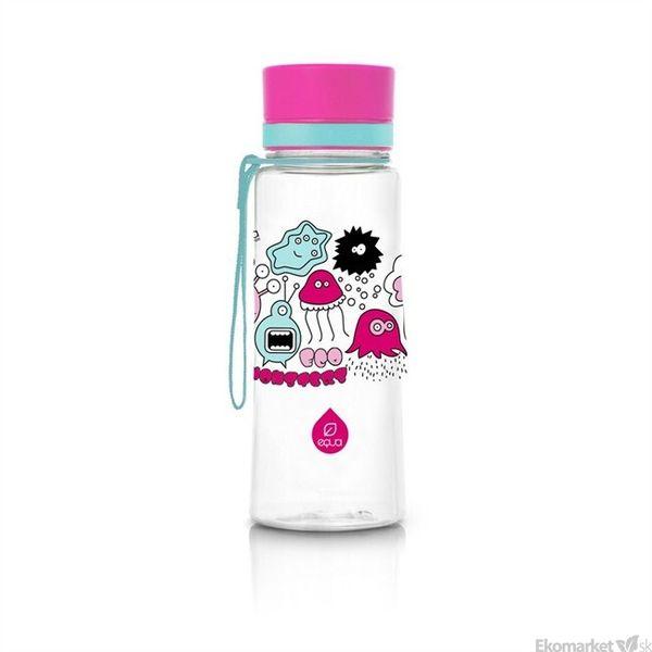 Ekologická fľaša EQUA - Monsters 600ml