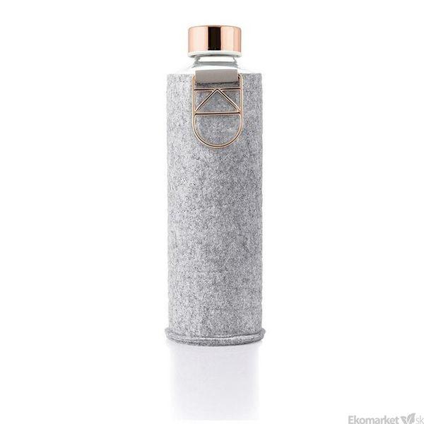 Ekologická sklenená fľaša EQUA Mismatch Rose Gold 750 ml