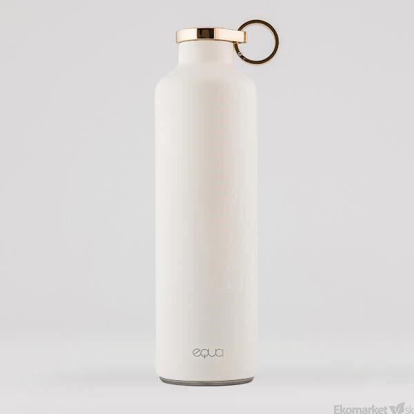 Ekologická termo fľaša EQUA BASIC Snow White 680 ml