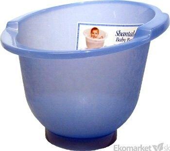 Kúpacie vedierko Shantala - modré