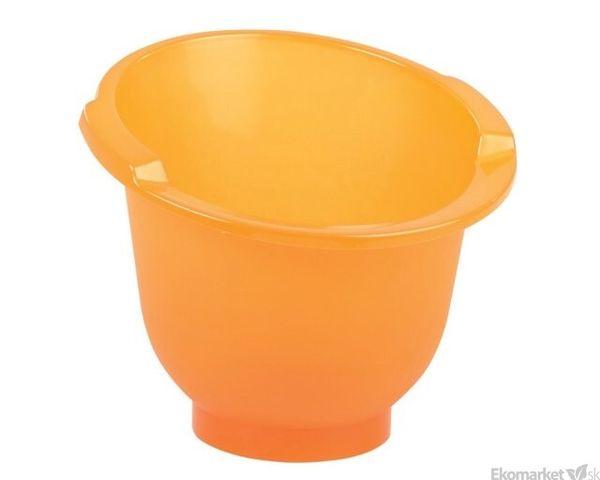 Kúpacie vedierko Shantala - oranžové