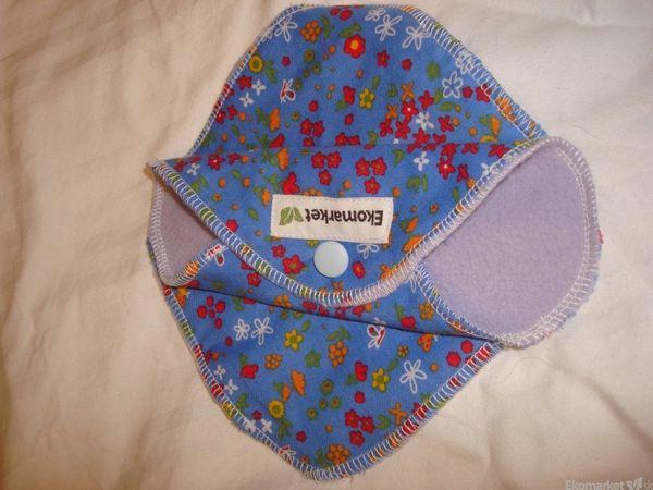 Látkové slipové vložky Ekomarket 4ks - modré