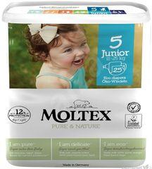 Moltex prírodné plienky Junior 11-25kg 26 ks