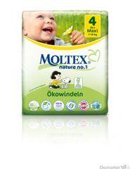 Moltex prírodné plienky Maxi 7-18kg 30 ks