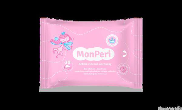 MonPeri detské vlhčené obrúsky 20 ks