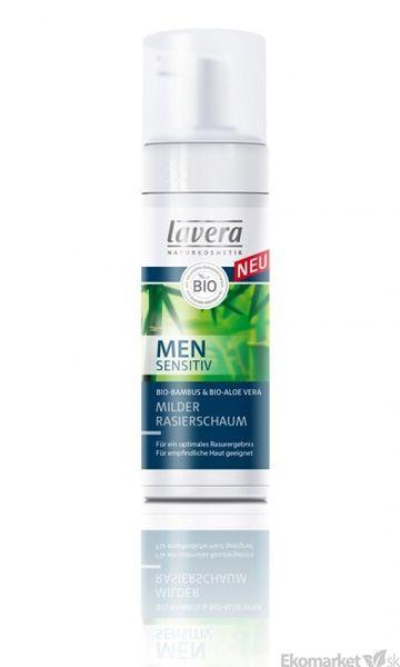 Prírodná jemná pena na holenie Lavera Men Sensitiv 150 ml