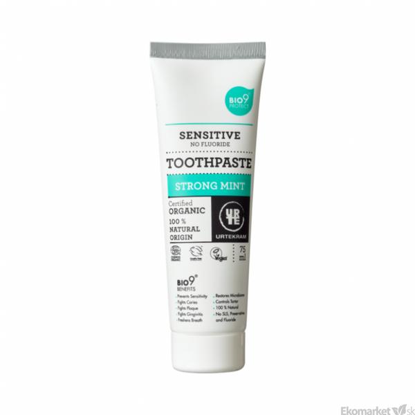 Prírodná zubná pasta sensitive URTEKRAM 75 ml