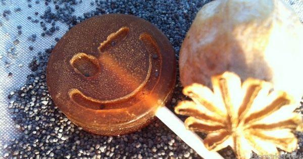 Prírodné medové lízatko beeLOL 8g - makové