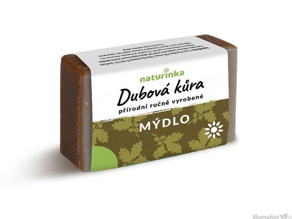 Prírodné mydlo Naturinka 110g - dubová kôra (intímna hygiena)