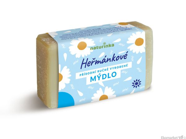 Prírodné mydlo Naturinka 110g - kamilkové (intímna hygiena)
