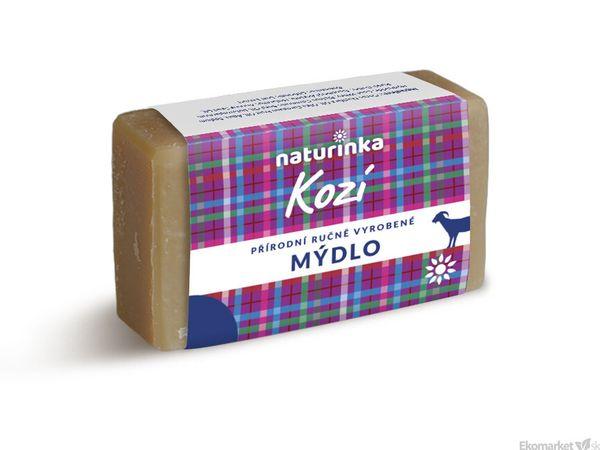 Prírodné mydlo Naturinka 110g - kozie (citlivá pokožka)
