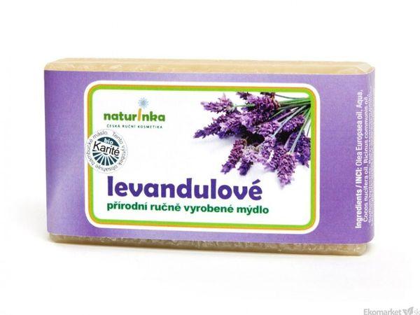 Prírodné mydlo Naturinka 110g - levanduľové (citlivá pokožka)