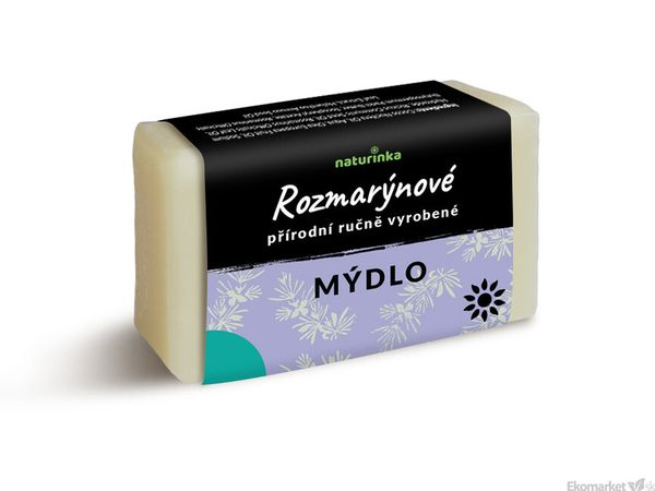 Prírodné mydlo Naturinka 110g - rozmarínové (peelingové)