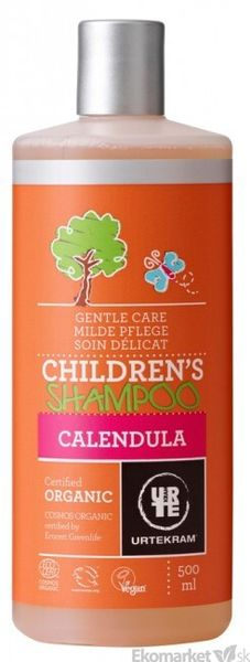 Prírodný detský šampón s nechtíkom URTEKRAM 500 ml